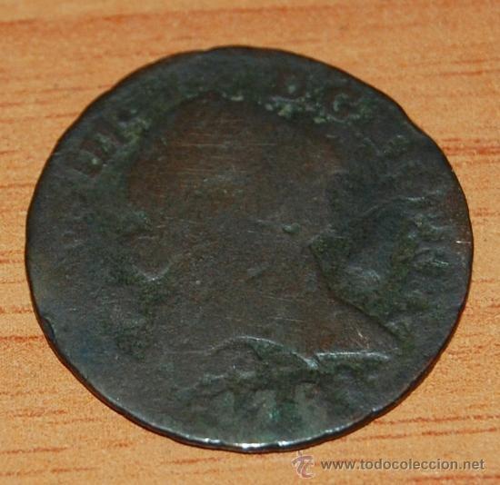 MONEDA DE 4 MARAVEDIA DE CARLOS III  1781