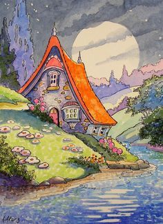 storybook cottages - Google Search