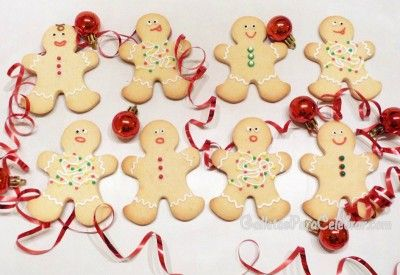 Receta de galletas de almendra para muñecos de navidad | Galletas para Celebrar