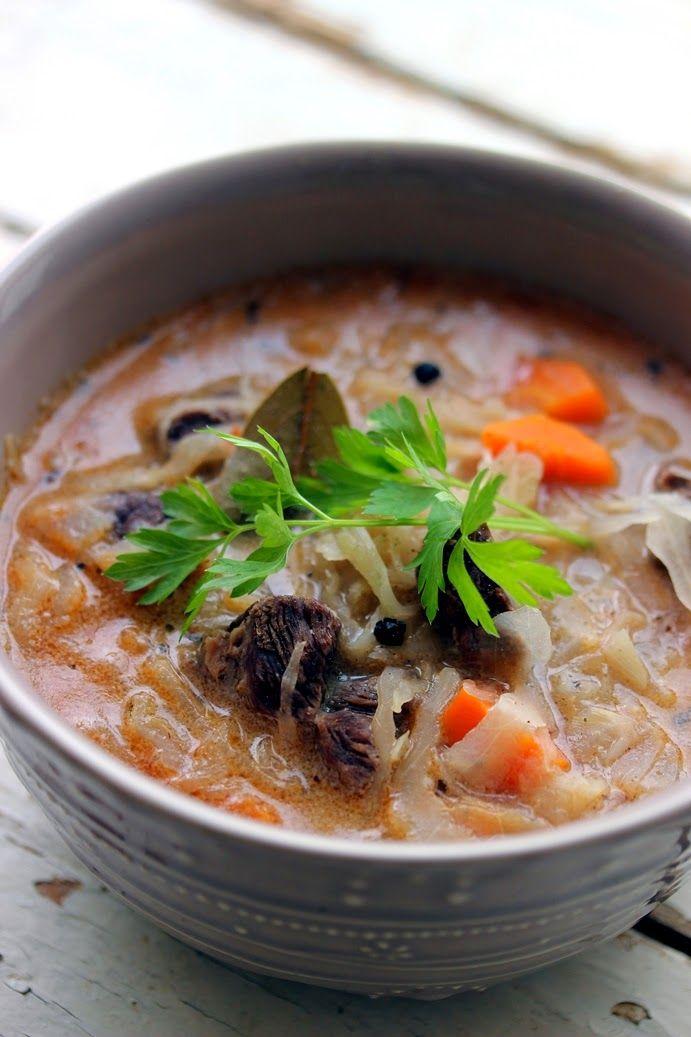 Tárkonyos savanyú káposzta leves...