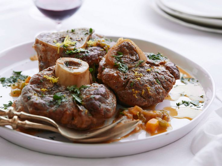Osso Buco recipe from Giada De Laurentiis via Food Network