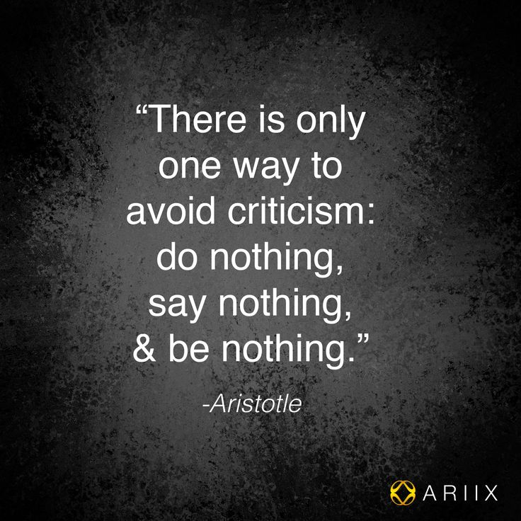 #Criticism #quote #Aristotle #Wiseman