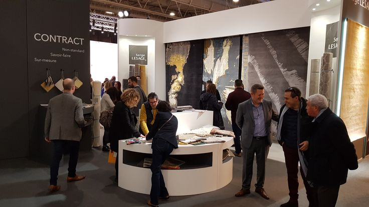 In live from Maison&Objet Fair in Paris ! Stand E68 F67 / Hall 7/NOW! #sergelesage