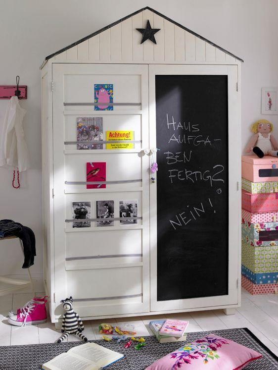 Kinderkamer inspiratie. Meer kinderkamers vind je op http://www.wonenonline.nl/slaapkamers/kinderkamer/