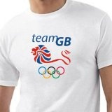Clownova.co.uk: Apparel: TEAM GB LONDON 2012 GAMES T SHIRT Vintage Tee