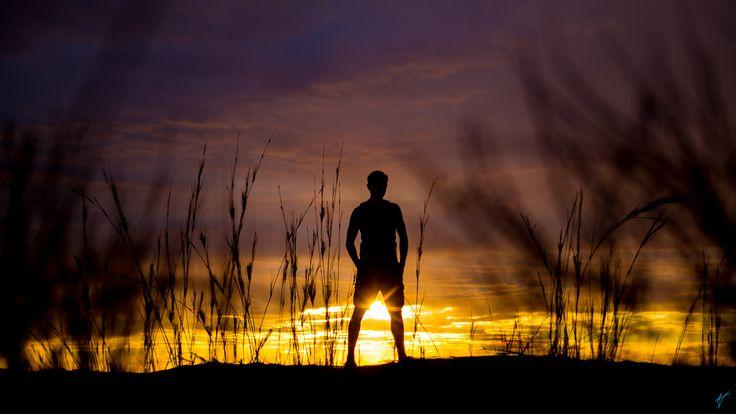 https://flic.kr/p/SMhs7a | Sossusvlei Selfie | A self-portrait taken during a sunset in Sossusvlei