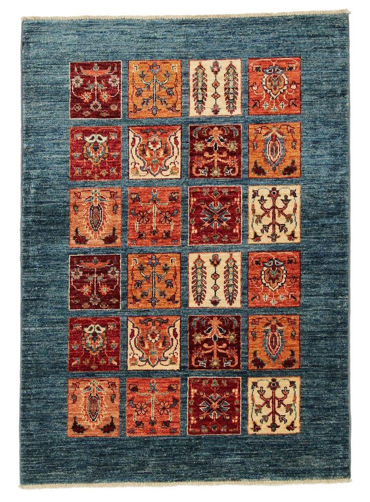 Oriental carpet by Arijana Bakthtiari. Hand knotted wool, 147x104cm