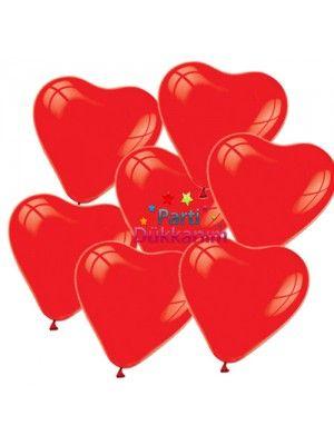 Kalpli Kırmızı Balon (50 adet) fiyatı