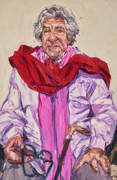 Nicholas Harding: Peter Weiss AO :: Archibald Prize 2016 :: Art Gallery NSW
