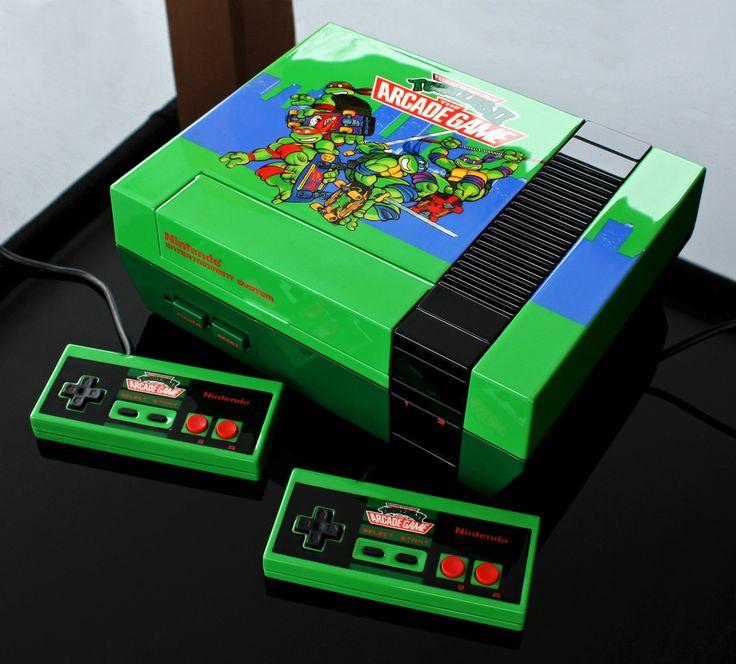 Custom Teenage Mutant Ninja Turtles TMNT 2 the arcade game NES by Zoki64 on @DeviantArt
