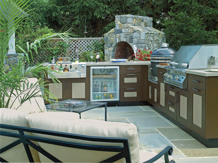 23 best Outdoor Kitchens images on Pinterest | Cocinas al aire libre ...
