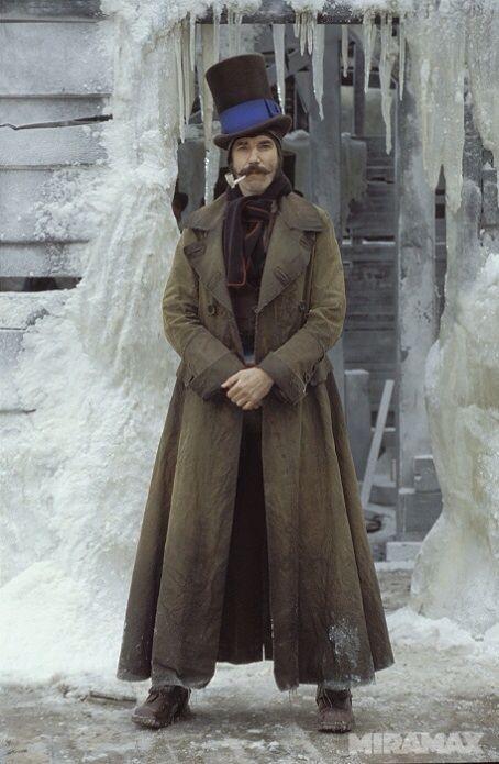 "Daniel Day Lewis as Bill ""The Butcher"" in Gangs of New York, Dir. Martin Scorsese, 2002."