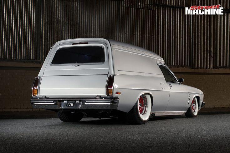 Holden HJ van rear
