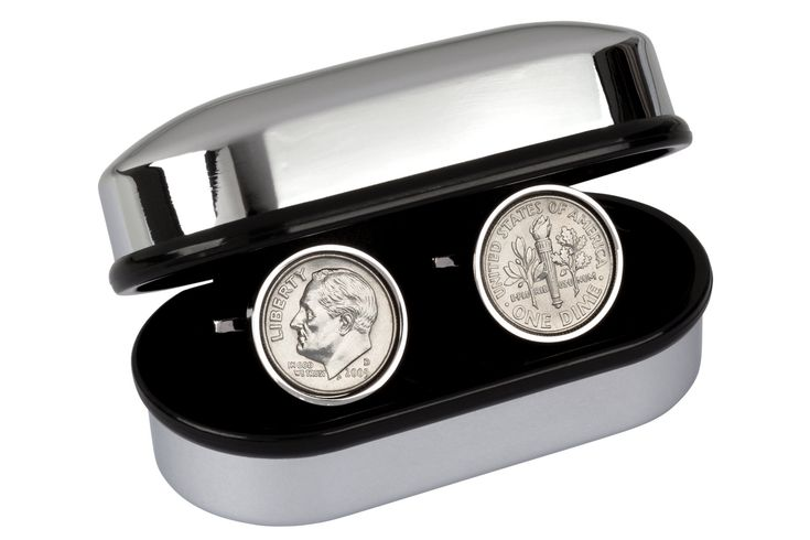 """Thanks for the kind words! ★★★★★ """"Perfect anniversary gift for husband! And fast shipping too! Thank you!"""" stamorga http://etsy.me/2nAI0ib #etsy #accessories #cufflinks #anniversary #men #tinyearcoin #tinyearhusband #tinjewelrygift #10thpresent #10thanniversary"""