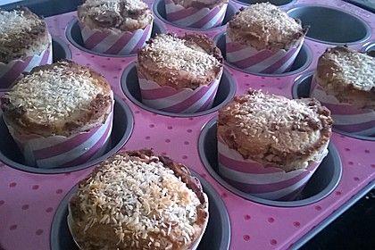 Low Carb Kokosmehl-Muffins 1