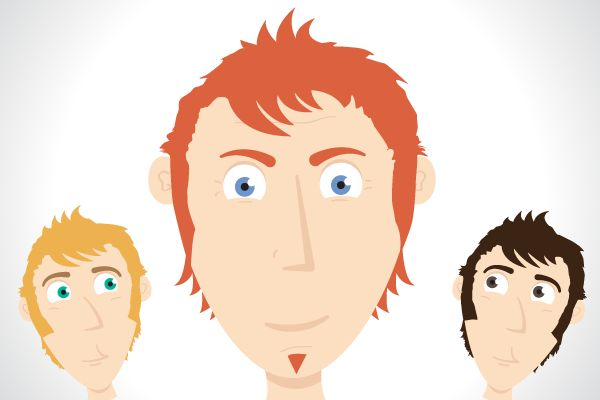 Illustrator Tutorial: Create a Simple Character Face with Vector Shapes