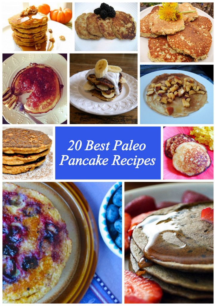 Best Paleo Pancake Recipes  http://www.paleozonerecipes.com/paleo-breakfast/paleo-pancake-recipes/ #paleo