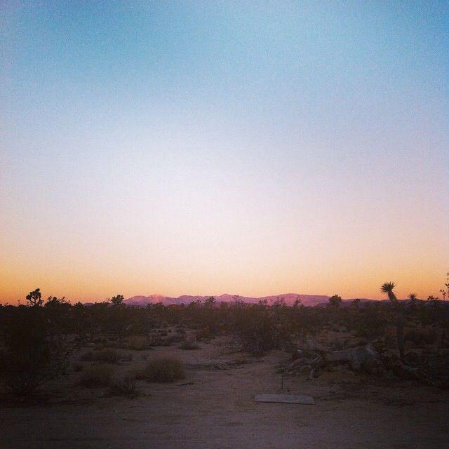 Good morning Joshua Tree, California, USA.