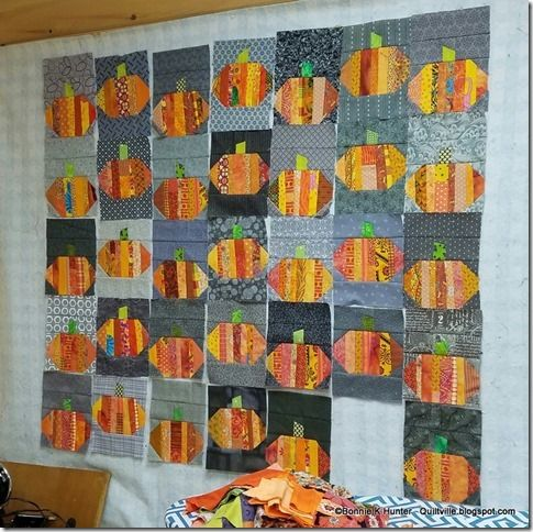 Quiltville's Quips & Snips!!: Pumpkins on the Mountain!