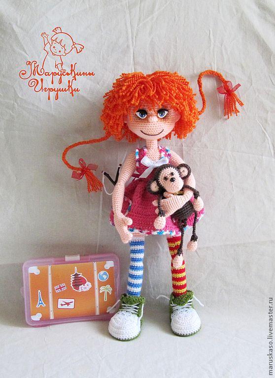 """Купить Мастер-класс """"Пеппи Длинный Чулок"""" - мастер класс, авторская работа, авторская кукла"""