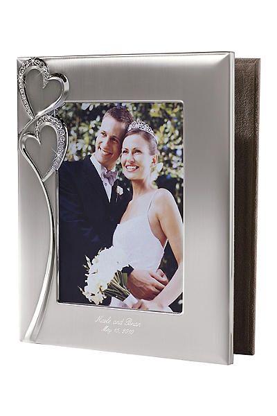 Personalized Twin Hearts Photo Album 4167-0203