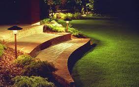 Add Some Magic With Garden Lighting: Gardens Paths, Beautiful Landscape, Landscape Lights, Lights Design, Front Decks, Lights Ideas, Modern Lights, Outdoor Lights, Night Gardens