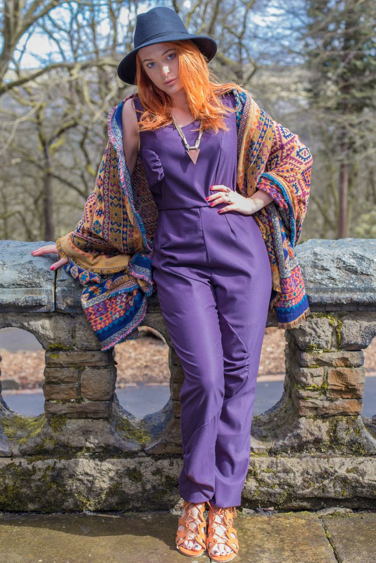 Who said choosing the perfect look had to be difficult? This one garment is a full outfit in itself. Luxurious royal purple fabric with flattering gather bubbles. Easy to dress up or down. It's so comfy you'll want to wear it for every event!