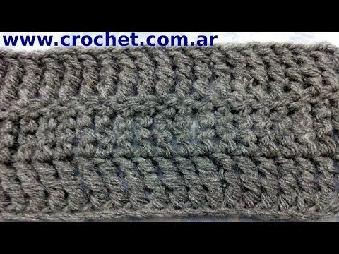 Punto Alto Triple a crochet