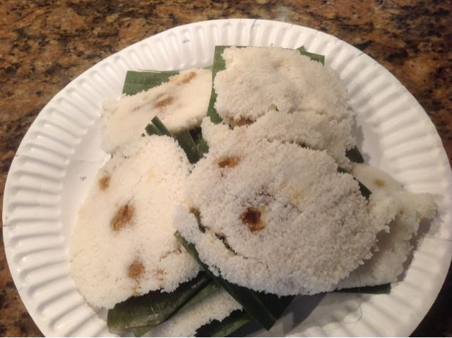The new art of baking: Putu Piring - Malaysian Steamed Palm Sugar Rice Cake