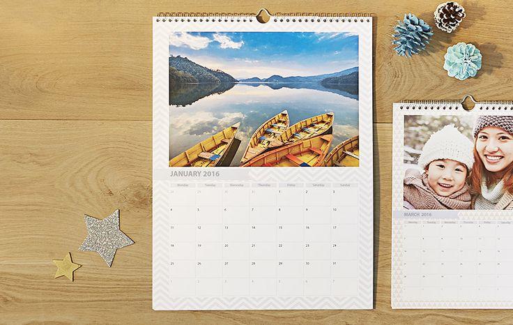 Personalised Calendars - Photo Calendars & Diaries - PhotoBox