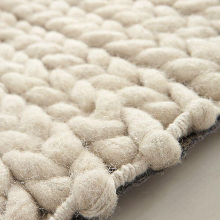 Teppich beige Stockholm 140x200