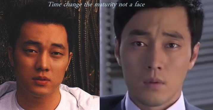 #Sojisub 2002 and 2013 His face never change