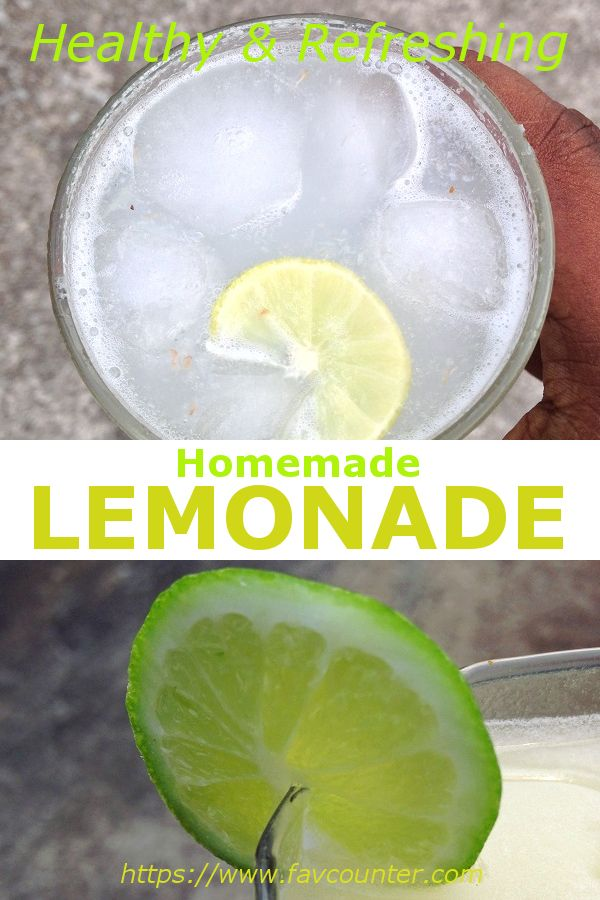 How To Make Homemade Lemonade Step By Step With Lemon Juice Homemade Lemonade Recipes Homemade Lemonade Lemonade With Lemon Juice