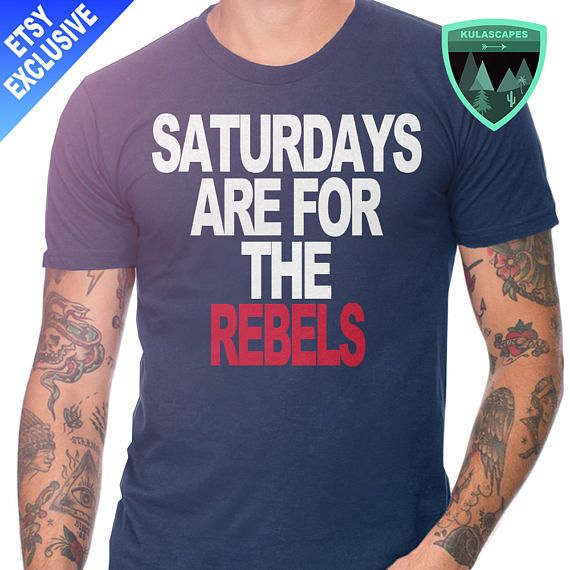 Official Saturdays are for the Ole Miss Rebels Shirt, Rebels Football Shirt, Ole Miss Football, Ole Miss Gift, Ole Miss Dad, Ole Miss Shirt
