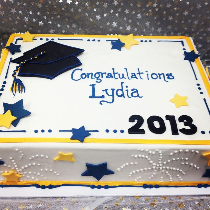 Graduation Cakes | graduation 2013 shown as half sheet cake 50 60 servings $ 98 available ...