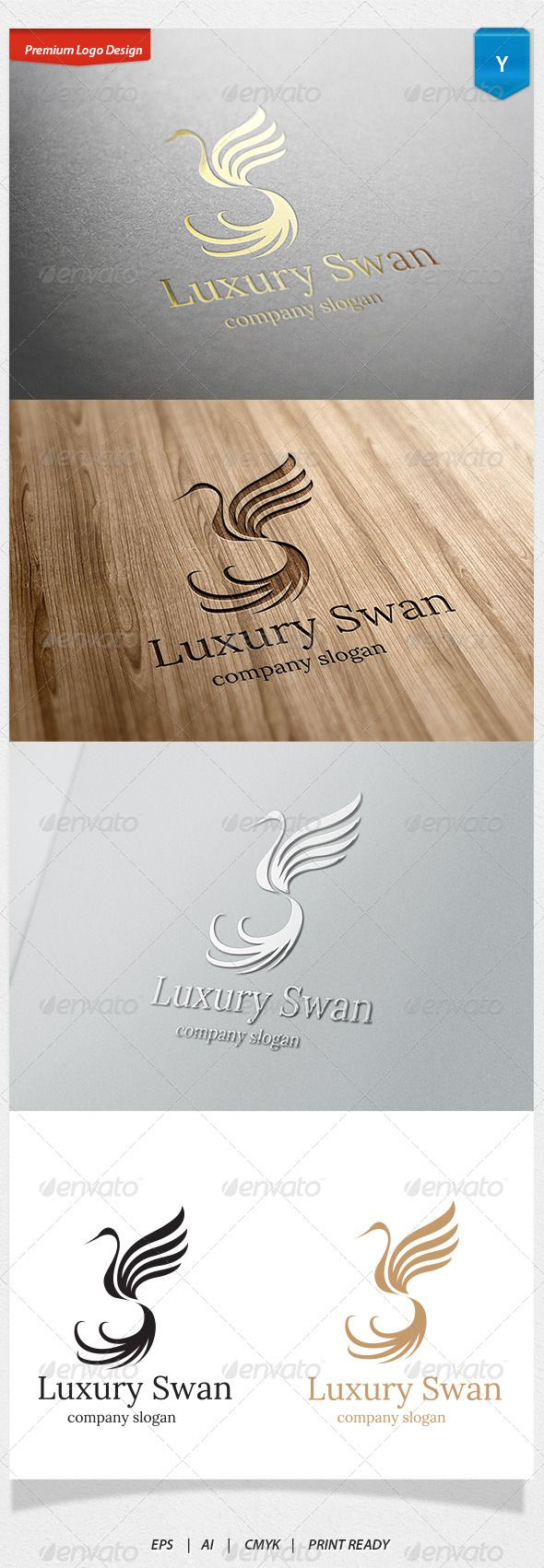 Luxury Swan Logo #GraphicRiver Logo Template Features 1. Excellent logo,simple and unique. 2. Fully editable with .eps 10 format 300 PPI CMYK. 3. Fully editable with AI file format 4. This Logo use free font you can read more detail in help file document. Created: 28August13 GraphicsFilesIncluded: VectorEPS #AIIllustrator Layered: No MinimumAdobeCSVersion: CS Resolution: Resizable Tags: animal #beautiful #beautyshop #bird #boutique #club #cosmetic #food #girl #guesthouse #hotel #luxury #shop...