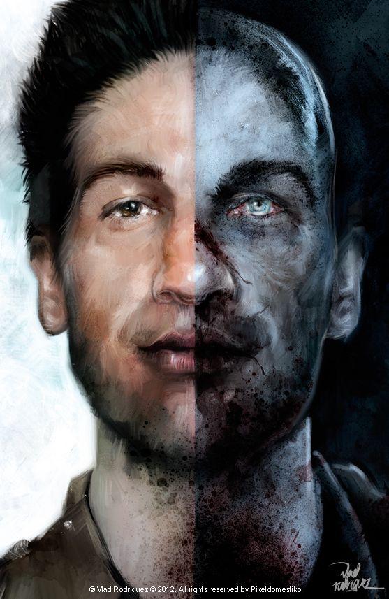 Walking Dead Fan Art-Shane Walsh by Vlad Rodriguez