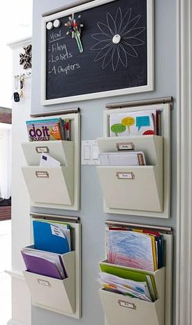 Deve ficar lindo na cozinha com livros de receitas e o quadro p/ cardápios e também no escritório com documentos pendentes.