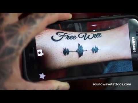 Soundwave Tattoos - Tattoos you can hear