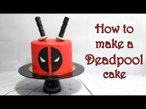 How to make a Deadpool cake / Jak zrobić tort z Deadpool - YouTube