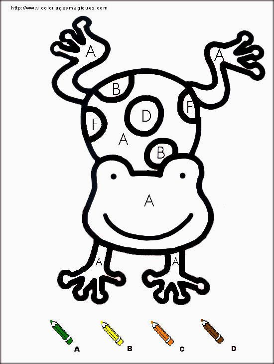 83 best images about projet grenouille maternelle on pinterest montessori maze and frogs - Livre coloriage magique maternelle ...