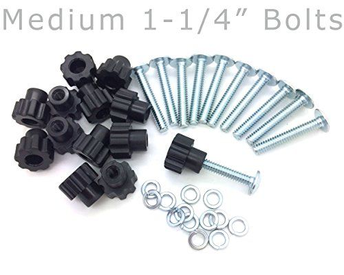 Pet Carrier Bolt Fasteners  Black Nylon Nuts 20 pack 114 Medium Bolts >>> You can get additional details at the image link.