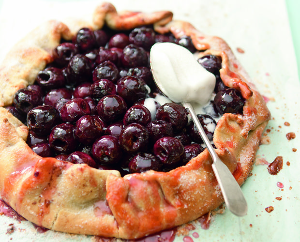 Open Cherry Pie by Pete Evans from My Kitchen