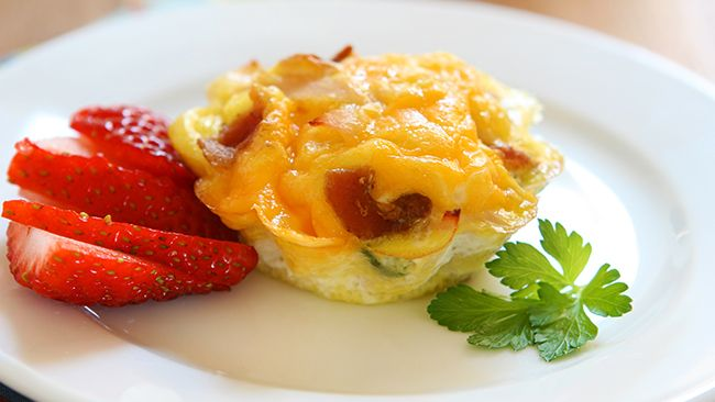 ... Quiche Bites for Bariatric Breakfast | Recipe | Bacon Quiche, Quiche