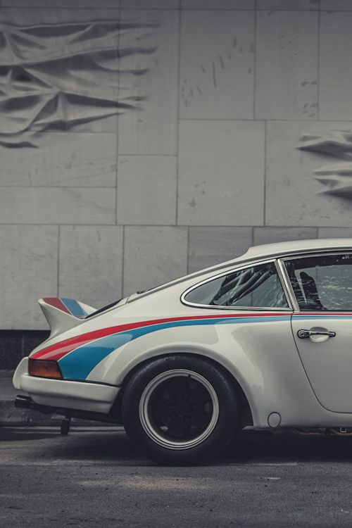 1973 Porsche 911 Carrera RSR  via Laurent