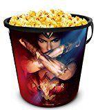 #9: DC Comics: Wonder Woman Movie Theater Exclusive 130 Plastic Popcorn Tub