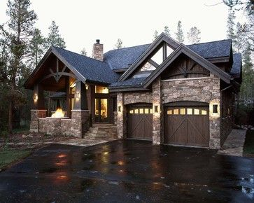 Best 25 mountain home plans ideas on pinterest mountain homes rustic homes and cabin homes - Mountain house plans dreamy holiday homes ...