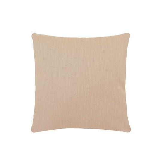 Cuscino con stampa frontale in finta pelle dorata texture pitone. Retro tinta unita. Imbottitura inclusa.