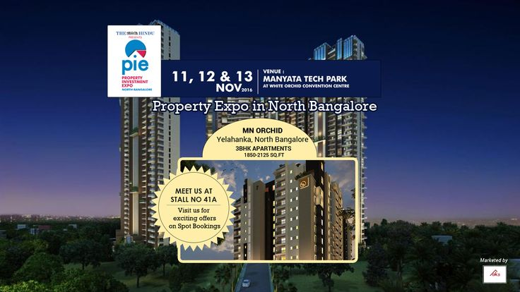 #realestatebuilders #apartments #yelahanka #propertyexpo  AKS Infra presents MN Orchid, a BBMP approved, Ready-to-occupy Apartment project located in Yelahanka, North Bangalore. To know more about the exciting offers, we have on this Value for Money Project visit The Hindu North Bangalore Property Investment Expo co-presented by 99acres this november 11-13 ( 10 am to 7pm).  Look forward to seeing you over the weekend! Entry to the expo is #free..!!