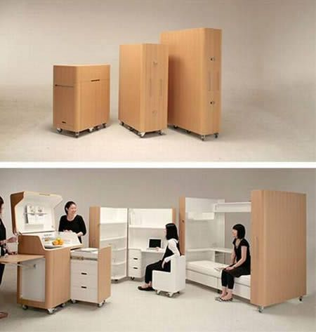 WOW: Storage Spaces, Idea, Living Spaces, Bedrooms Design, Kitchens Offices, Small Spaces, Guest Rooms, Spaces Savers, Spaces Save Furniture